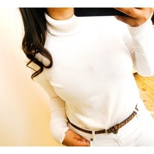 cable & gauge • ribbed turtle neck / long sleeve